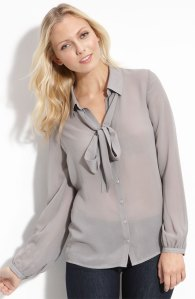 Hinge Silk Blouse